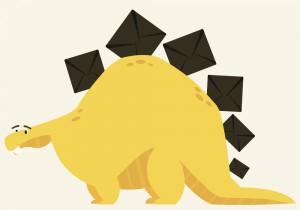 email-dinosaur