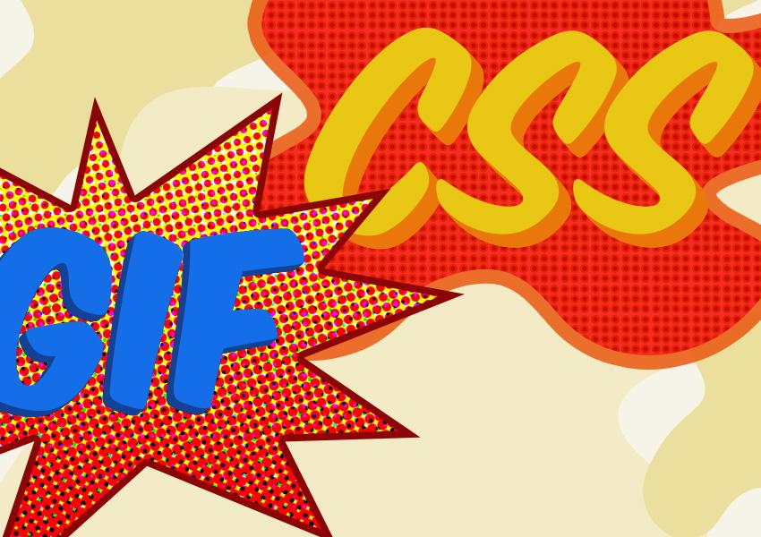 Gif VS CSS