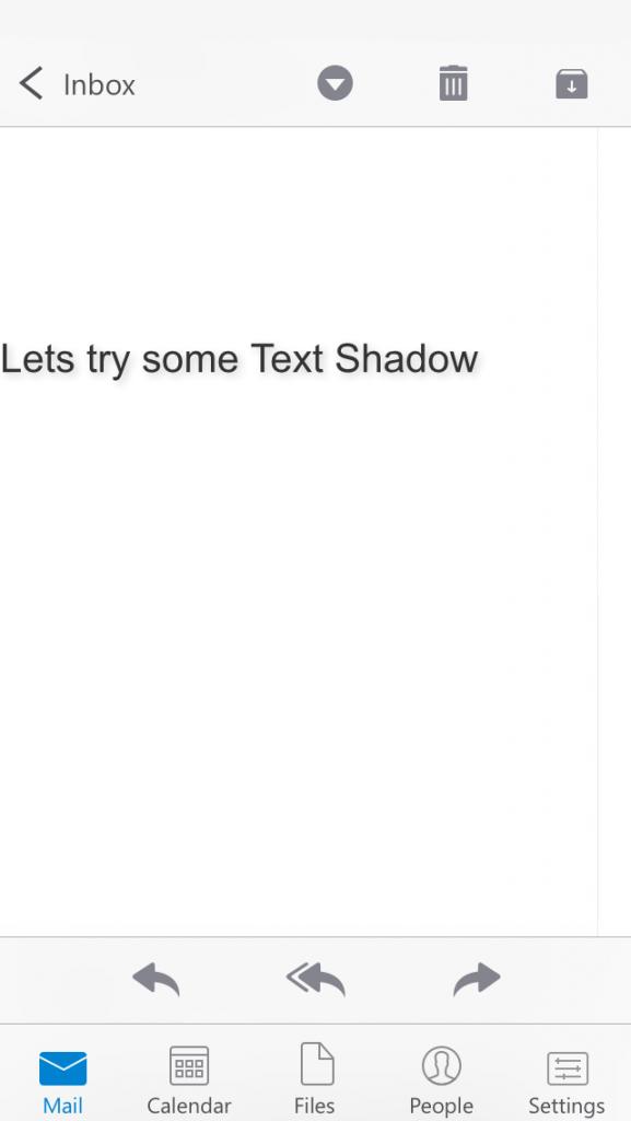 text-shadows